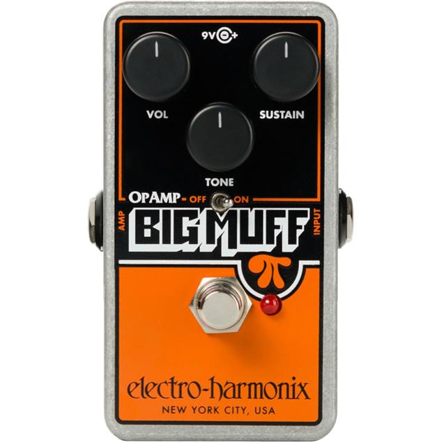 【今だけポイント5倍!12月2日9時59分まで】【ピック10枚セット付き!】OP-AMP Big Muff(オペアンプビッグマフ) ディストーション/ファズ【エレクトロ・ハーモニクス/エレハモ】【エフェクター】