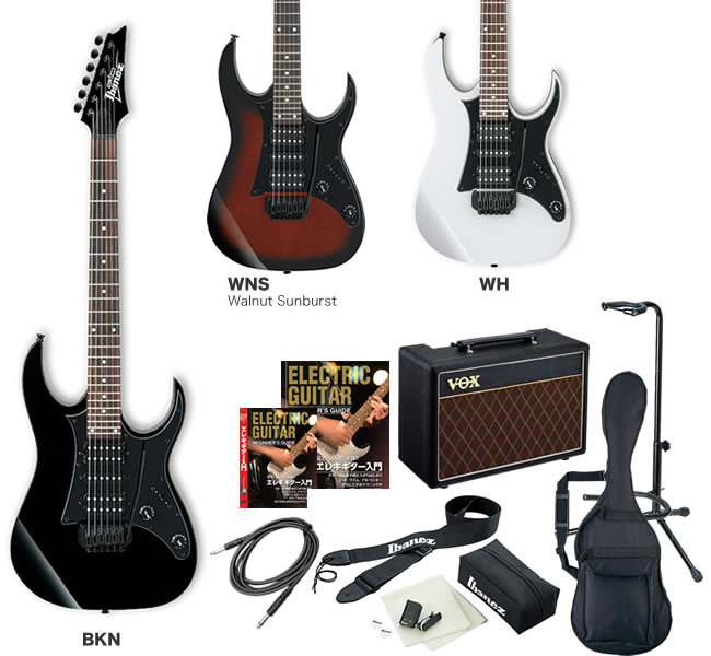GIO Ibanez アイバニーズ エレキギター GRG150B [VOX Pathfinder10 アンプ入門セット]【発送区分:大型】