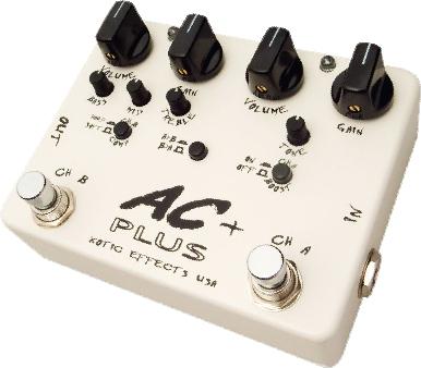 Xotic エフェクター AC Plus 【エキゾチック】【ピック10枚セット付き!】【エフェクター】