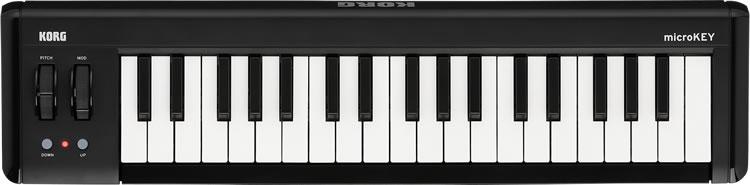KORG コンパクト MIDI キーボード microKEY-37 (microKEY2 第二世代) [37鍵モデル 【コルグ マイクロキー】