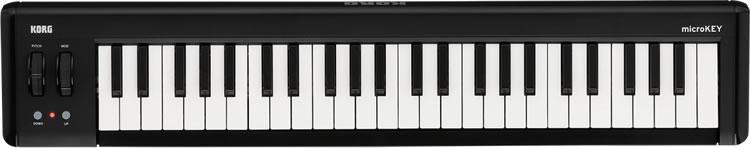 KORG コンパクト MIDI キーボード microKEY-49 (microKEY2 第二世代) [49鍵モデル 【コルグ マイクロキー】