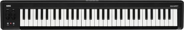 KORG コンパクト MIDI キーボード microKEY-61 (microKEY2 第二世代) [61鍵モデル] 【コルグ マイクロキー】