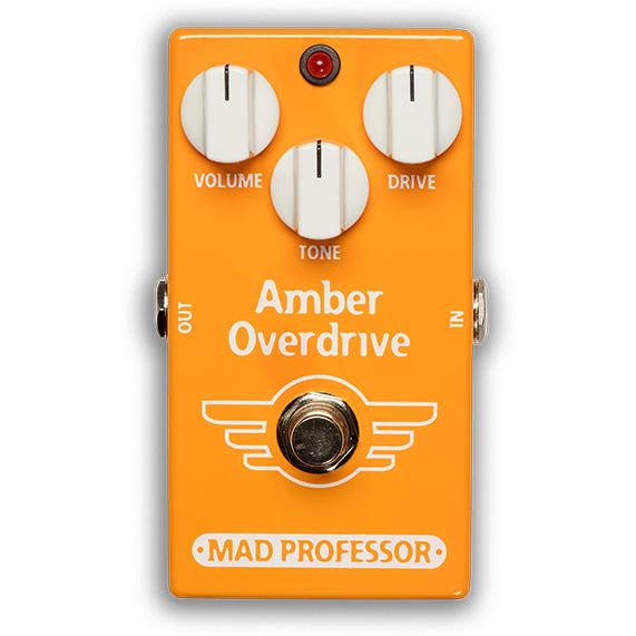 【ピック10枚セット付き!】MAD PROFESSOR エフェクター Amber Overdrive FAC (FACTORY) アンバー オーバードライブ 【マッドプロフェッサー ファクトリー】