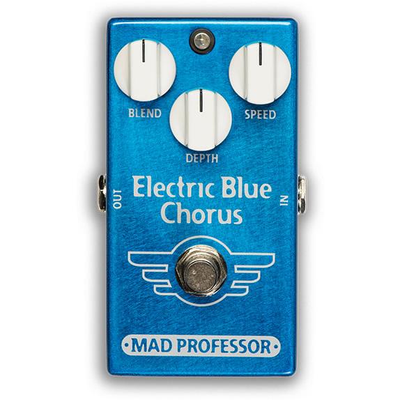 【ピック10枚セット付き!】MAD PROFESSOR エフェクター Electric Blue Chorus FAC (FACTORY) エレクトリックブルー コーラス 【マッドプロフェッサー ファクトリー】