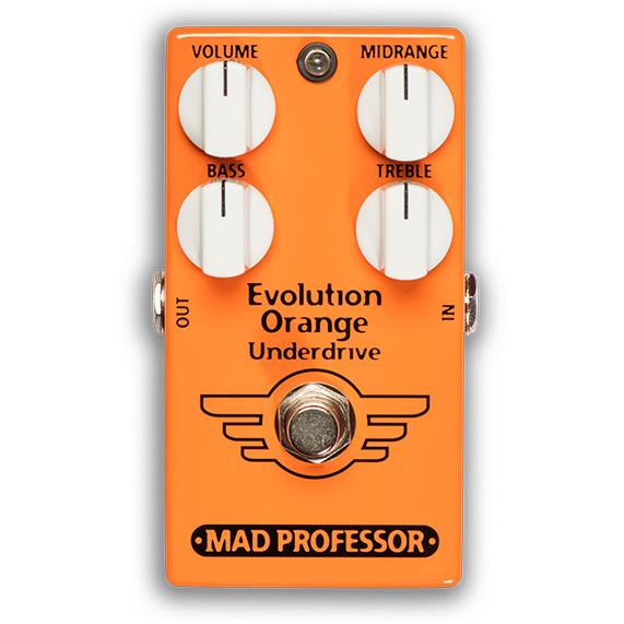 【今だけポイント5倍!12月2日9時59分まで】【ピック10枚セット付き!】MAD PROFESSOR エフェクター Evolution Orange Underdrive FAC (FACTORY) エヴォリューションオレンジアンダードライブ 【マッドプロフェッサー ファクトリー】