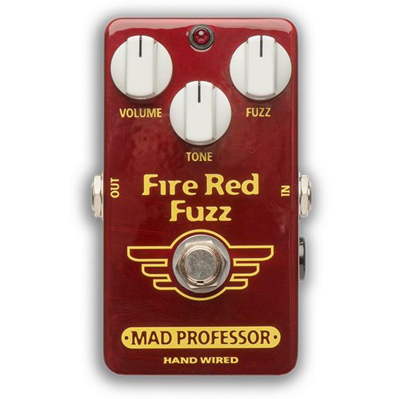 (HAND ファズ 【マッドプロフェッサー HW Fuzz PROFESSOR 【ピック10枚セット付き!】MAD Red Fire WIRED) ファイヤーレッド ハンドワイヤード】 エフェクター