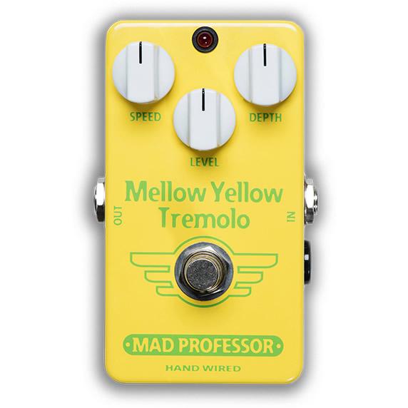 【ピック10枚セット付き!】MAD PROFESSOR エフェクター Mellow Yellow Tremolo HW (HAND WIRED) メロウイエロー トレモロ 【マッドプロフェッサー ハンドワイヤード】