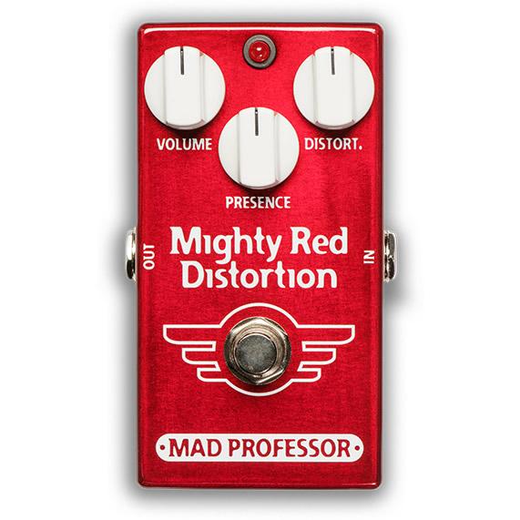 【ピック10枚セット付き!】MAD PROFESSOR エフェクター Mighty Red Distortion FAC (FACTORY) マイティーレッド ディストーション 【マッドプロフェッサー ファクトリー】