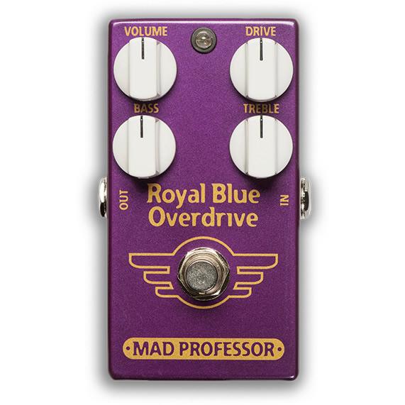 【ピック10枚セット付き!】MAD PROFESSOR エフェクター Royal Blue Overdrive FAC (FACTORY) ロイヤルブルー オーバードライブ 【マッドプロフェッサー ファクトリー】