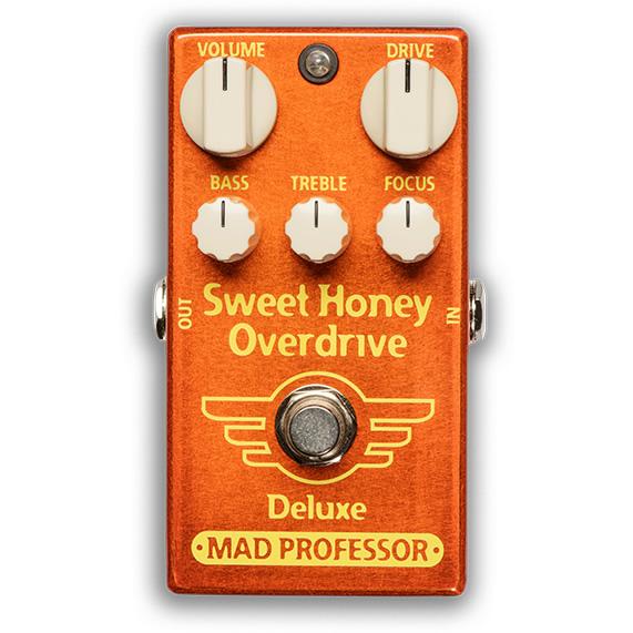 【ピック10枚セット付き!】MAD PROFESSOR エフェクター Sweet Honey Overdrive Deluxe FAC (FACTORY) スィートハニー オーバードライブ デラックス 【マッドプロフェッサー ファクトリー】