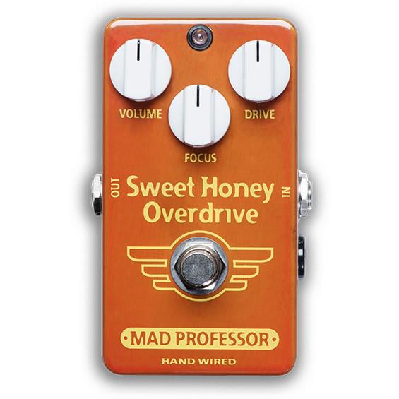 【ピック10枚セット付き!】MAD PROFESSOR エフェクター Sweet Honey Overdrive HW (HAND WIRED) スウィートハニー オーバードライブ 【マッドプロフェッサー ハンドワイヤード】