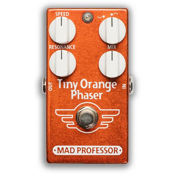 【今だけポイント5倍!12月2日9時59分まで】【ピック10枚セット付き!】MAD PROFESSOR エフェクター Tiny Orange Phaser FAC (FACTORY) タイニーオレンジ フェイザー 【マッドプロフェッサー ファクトリー】
