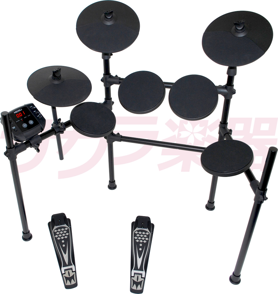 MEDELI electron drums DD-401 J DIY KIT chairs, headphones, electronic drum set