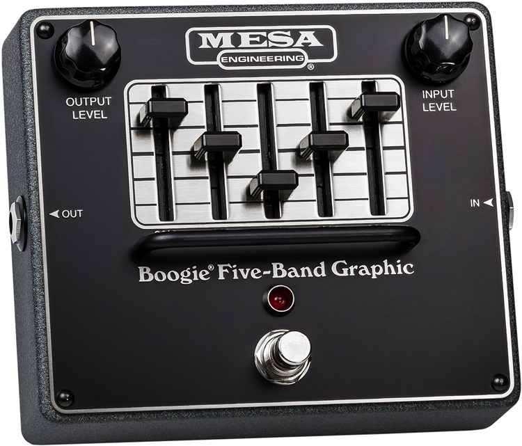 Mesa/Boogie(メサ・ブギー) エフェクター Boogie Five-Band Graphic [イコライザー]【ピック10枚セット付き!】