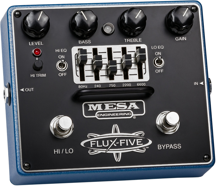 Mesa/Boogie(メサ・ブギー) エフェクター The FLUX-FIVE [オーバードライブ]【ピック10枚セット付き!】