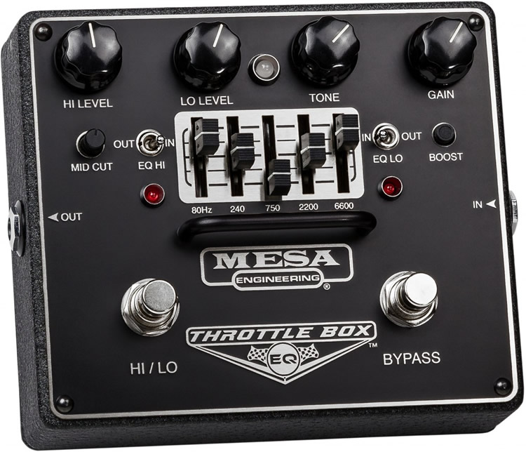 Mesa/Boogie(メサ・ブギー) エフェクター THROTTLE BOX EQ [オーバードライブ]【ピック10枚セット付き!】