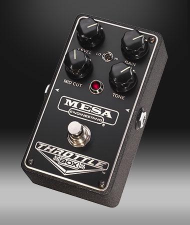 Mesa/Boogie(メサ・ブギー) エフェクター DRIVE PEDALS/THROTTLE BOX [ディストーション]【ピック10枚セット付き!】