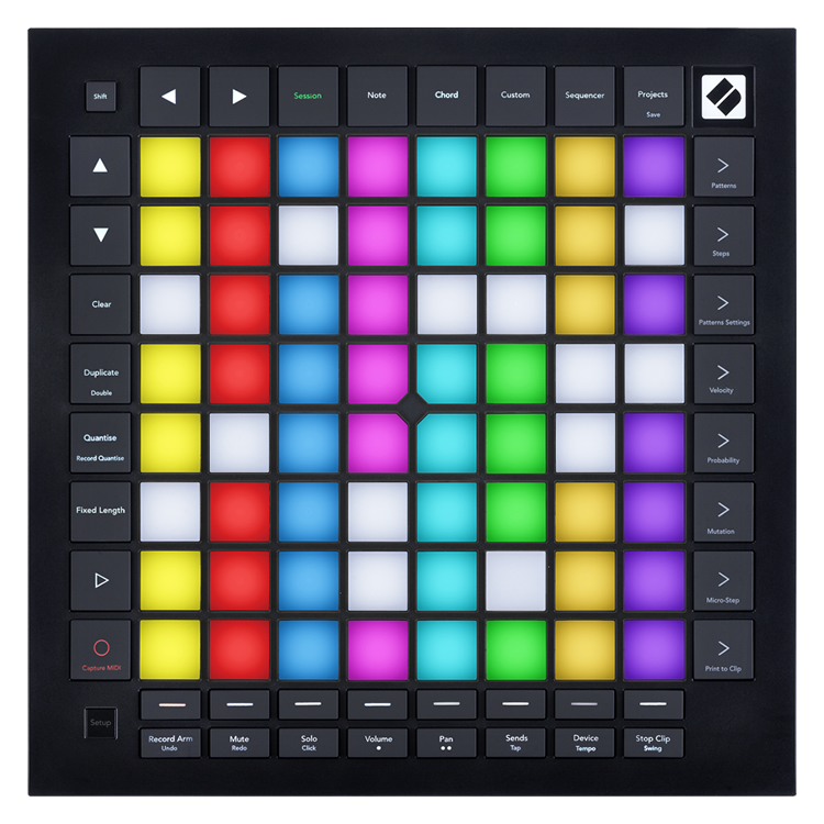 NOVATION MIDIコントローラー LaunchPad Pro MK3【Ableton Live Lite付属】【ノベーション グリッドコントローラー ランチパッドプロ3】
