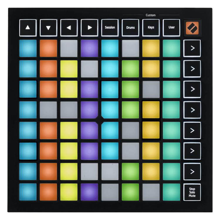 【今だけポイント5倍!12月2日9時59分まで】NOVATION MIDIコントローラー LaunchPad Mini MK3【Ableton Live Lite付属】【ノベーション グリッドコントローラー ランチパッドミニ3】
