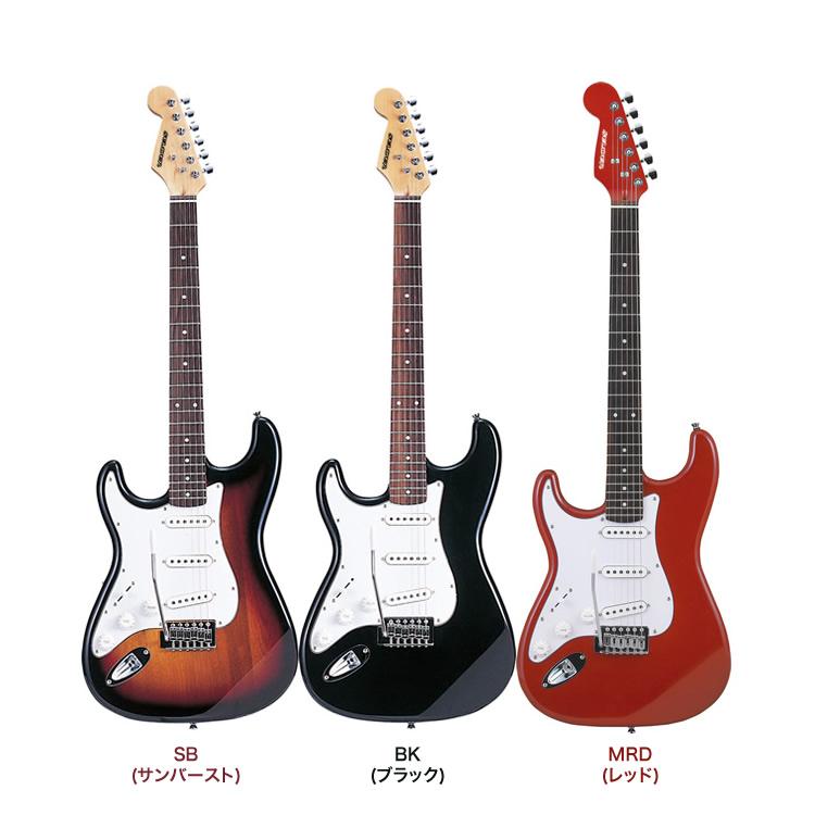 エレキギター 左利き用 SELDER ST-23LH (本体のみ)【予約カラーは4月頃】【エレキギター セルダー レフトハンド 初心者 入門 ST23LH】