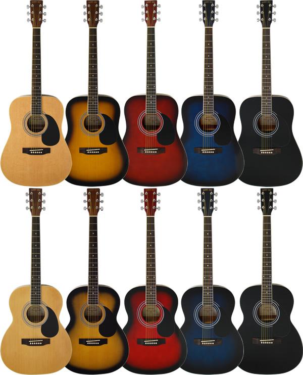 【今だけポイント5倍!12月2日9時59分まで】アコースティックギター HONEY BEE W-15/F-15 (本体のみ)【アコースティックギター ハニービー アコギ 初心者 W15 F15】【大型】