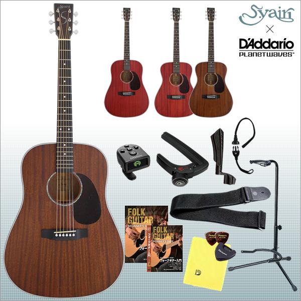 アコースティックギター S.Yairi YF-4M / YD-4M [サテン仕上げ] PW入門セット【ヤイリ YF4M YD4M】【大型】