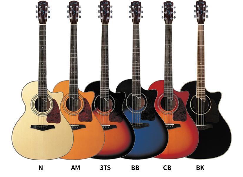 【欠品カラーは7月頃入荷】エレアコ S.Yairi YE-5M 単品【アコースティックギター ヤイリ YE5M】【大型】