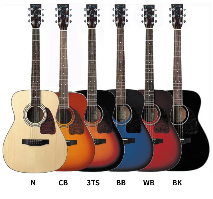 【クーポンで5%オフ!7月19日9時59分まで】アコースティックギター S.Yairi YF-3M 単品【ヤイリ YF3M】【大型】