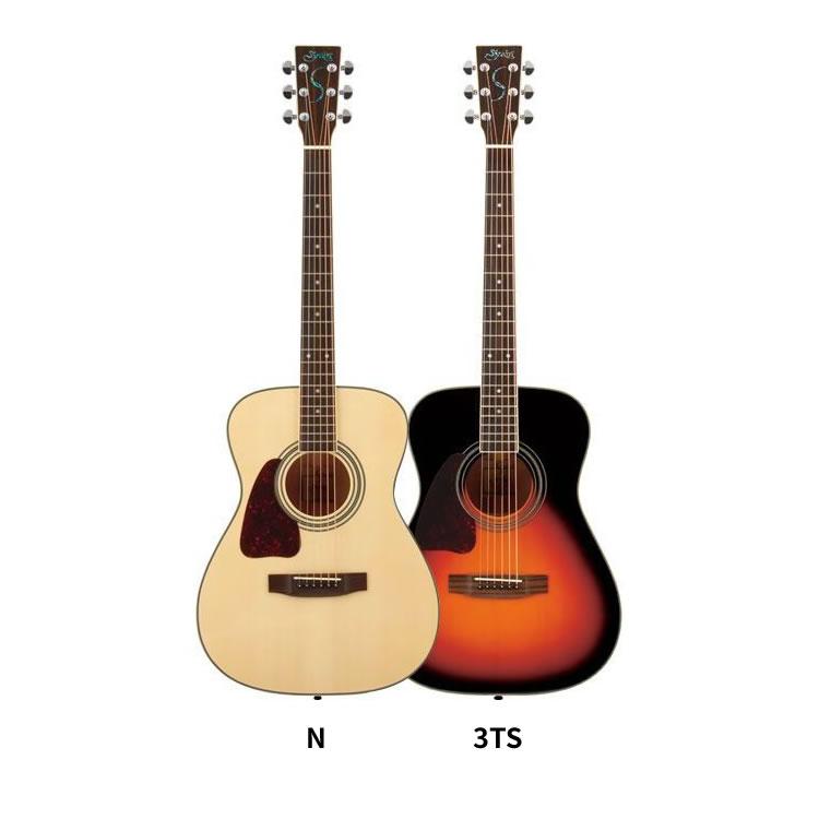 アコースティックギター S.Yairi レフトハンドモデル YF-3M-LH 単品【アコースティックギター ヤイリ 左利き用 YF3MLH】【大型】
