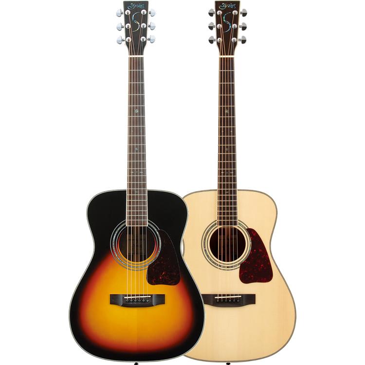アコースティックギター S.Yairi YF-5R 単品【ヤイリ アコギ フォークタイプ YF5R トップ単板】【大型】