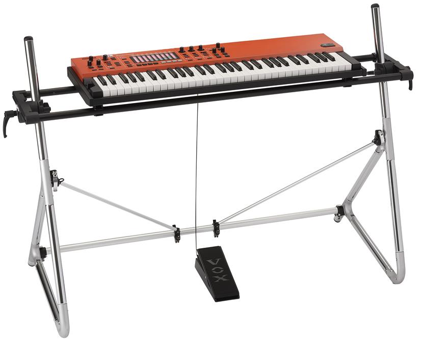 VOX 61鍵キーボード Continental-61 (コンチネンタル) [専用スタンド・ペダル付] 【ヴォックス ボックス 61鍵盤】【発送区分:大型】