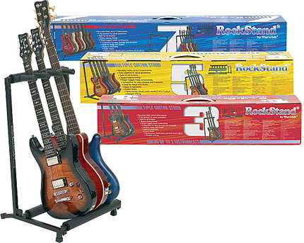 RockStand by warwick ギター/ベース用スタンド MULTIPLE Flat Pack STANDS 7本用 [#20882 ギタースタンド]