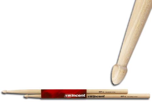 WINCENT(ウィンセント) ドラムスティック(10組セット) ヒッコリー・Fusion W-55F XL (L=420mm D=14.7mm)
