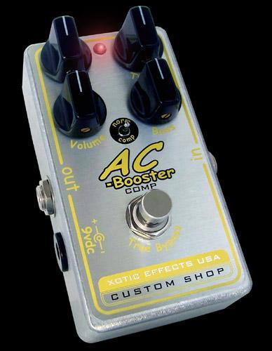Xotic エフェクター AC-COMP 【エキゾチック】【ピック10枚セット付き!】【エフェクター】