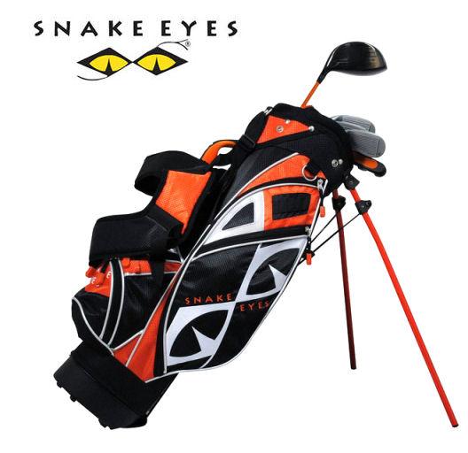 SNAKE EYES(スネークアイ) ジュニア ゴルフセット SECS-5754 6才~8才 オレンジ