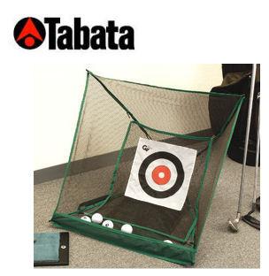 ヒモを引くだけで 高品質新品 パッと簡単セッティング Tabata タバタ アプローチ練習器 たたむとコンパクト GV-0881 パッとアプローチ ランキングTOP5