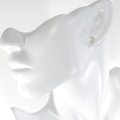K18 馬蹄 ダイヤモンド ピアス 宅配便送料無料プレゼントギフト母の日nwN0m8