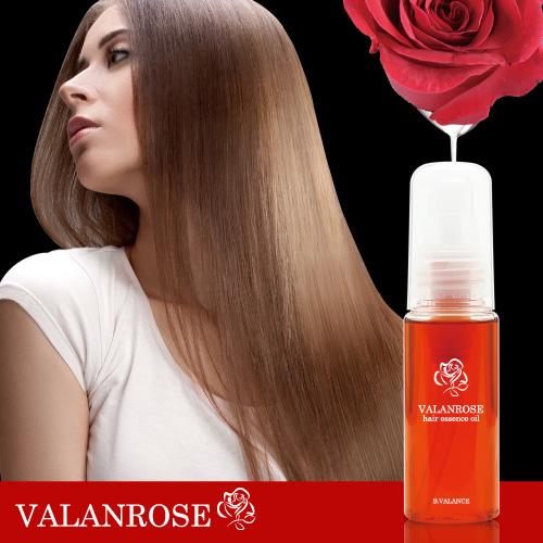 VALANROSE 头发精华油 (Baran 上升了头发油对待内爆的头发保持家里人类卷曲的直头发卷曲处理油保湿水分直的头发直直卷发)