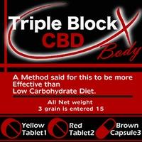 TRIPLE BLOCK CBD(三倍块CBD保健食品减肥diet减肥保健食品非常便宜的减肥保健食品保健食品口碑supplement营养补助食品)