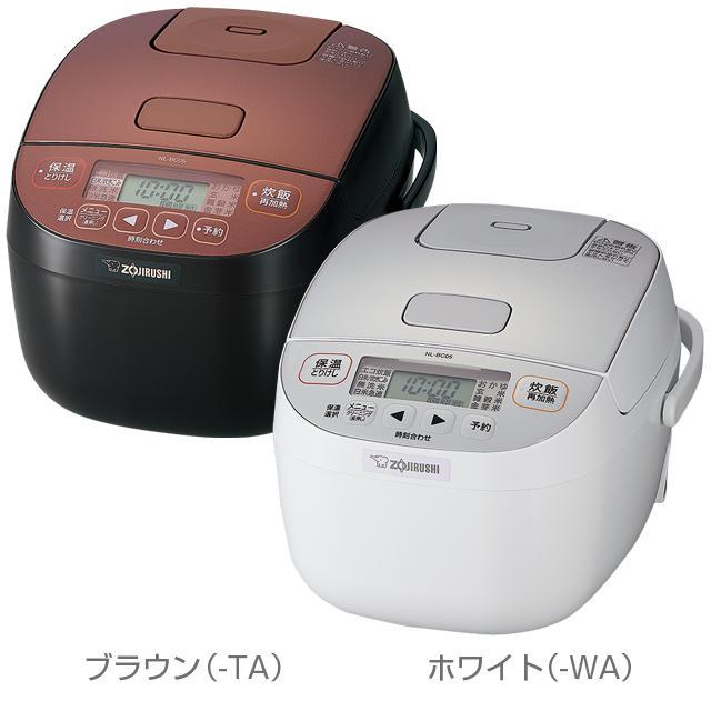 【送料無料】【象印】小容量マイコン炊飯ジャー(3合)NL-BC05(TA)ブラウン