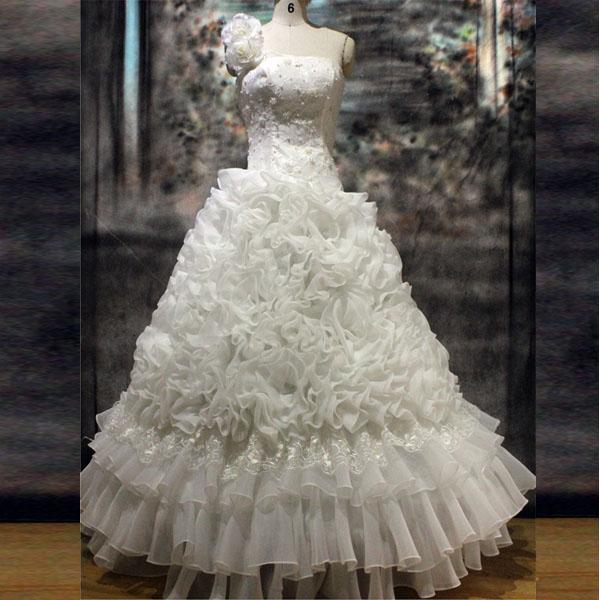☆人生で一番輝いていただく為の最適なドレスを☆結婚式ドレス、ブライダルドレス、パーティードレス、二次会ドレス、発表会ドレス、子供ドレス、謝恩会ドレス、演奏会ドレス☆ウェデイングドレスNo.2【宅】【P25Jan15】