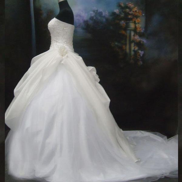 ☆人生で一番輝いていただく為の最適なドレスを☆結婚式ドレス、ブライダルドレス、パーティードレス、二次会ドレス、発表会ドレス、子供ドレス、謝恩会ドレス、演奏会ドレス☆ウェデイングドレスNo.9【宅】【P25Jan15】