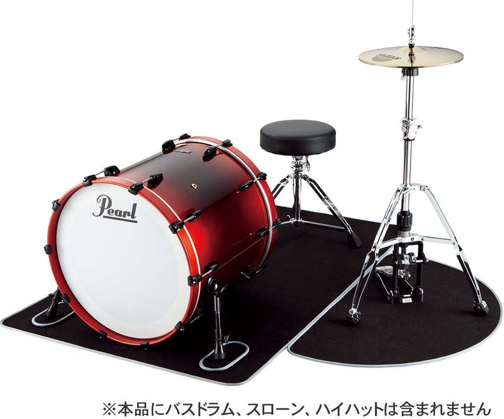 【送料無料】パール Pearl MAT-10160 セッティングマット ドラムマット【smtb-TK】