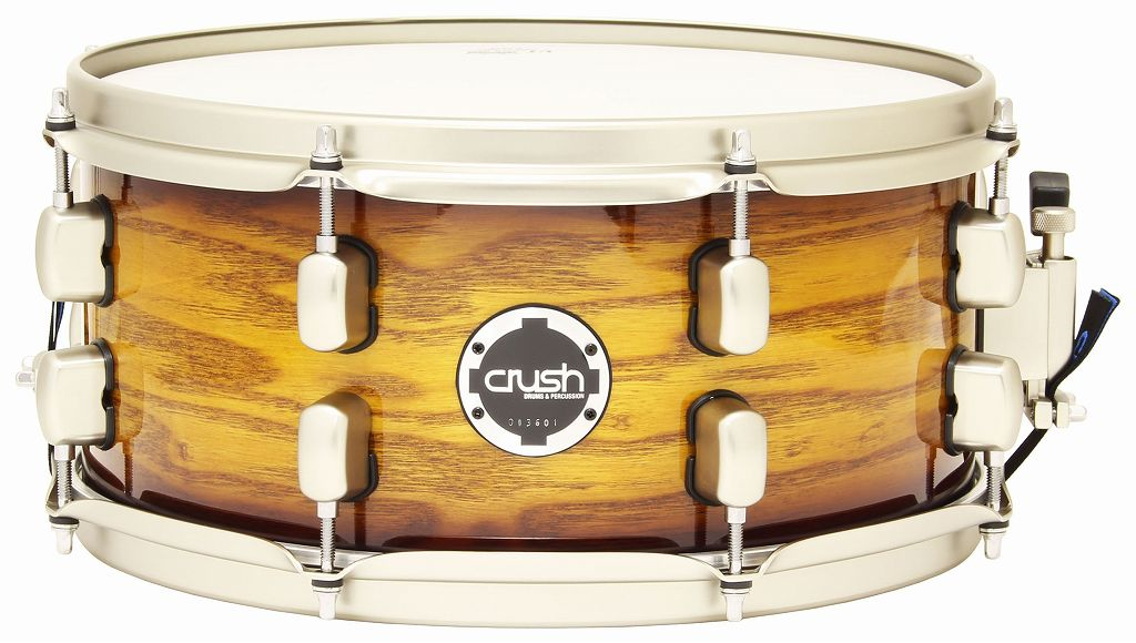 【送料無料】クラッシュ Crush SMAS13X6 705 Vintage Sunburst Lacquer (High Gloss) スネアドラム 【smtb-TK】