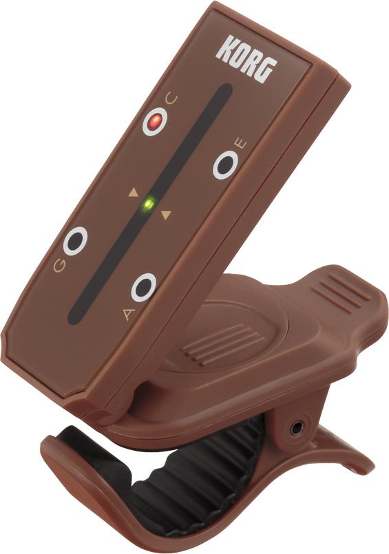 【あす楽】 KORG HT-U1 ウクレレ用 headtune ヘッドチューン ヘッド型をモチーフにしたユニークなデザインのウクレレ用クリップ式チューナー【送料無料】【smtb-TK】