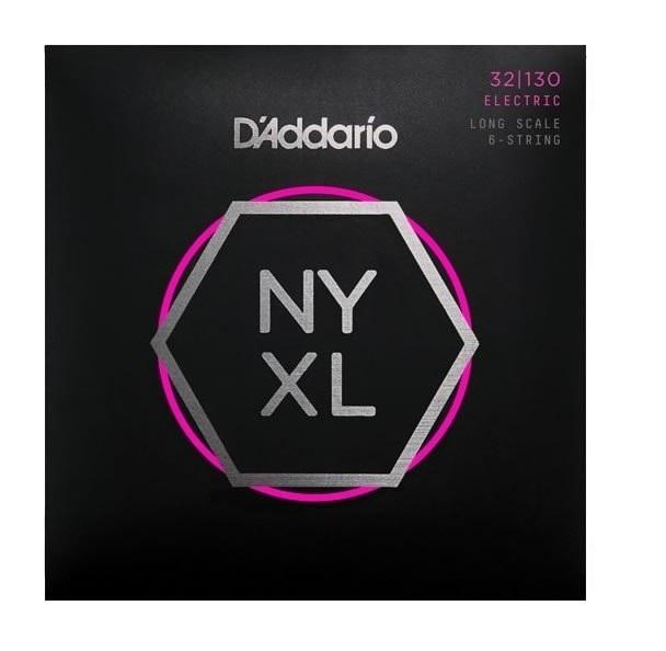 【ベース弦×2】【メール便発送・全国送料無料・代金引換不可】ダダリオ D'addario NYXL32130×2 Long Scale, Regular Light 6-String, 32-130 ロングスケール ベース弦【smtb-TK】