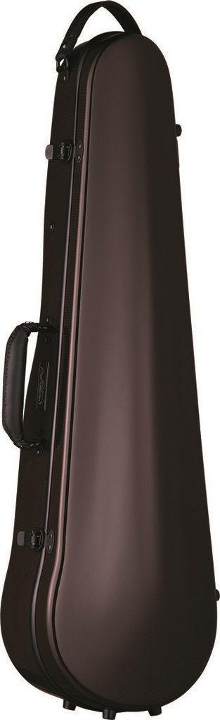 【ポイント10倍】【送料無料】Carbon Mac CFV-2 BRN (チョコブラウン) バイオリン ケース カーボンマック スリム【smtb-TK】