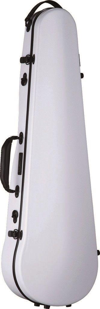 【ポイント10倍】【送料無料】Carbon Mac CFV-2 WHT (ホワイト) バイオリン ケース カーボンマック スリム【smtb-TK】