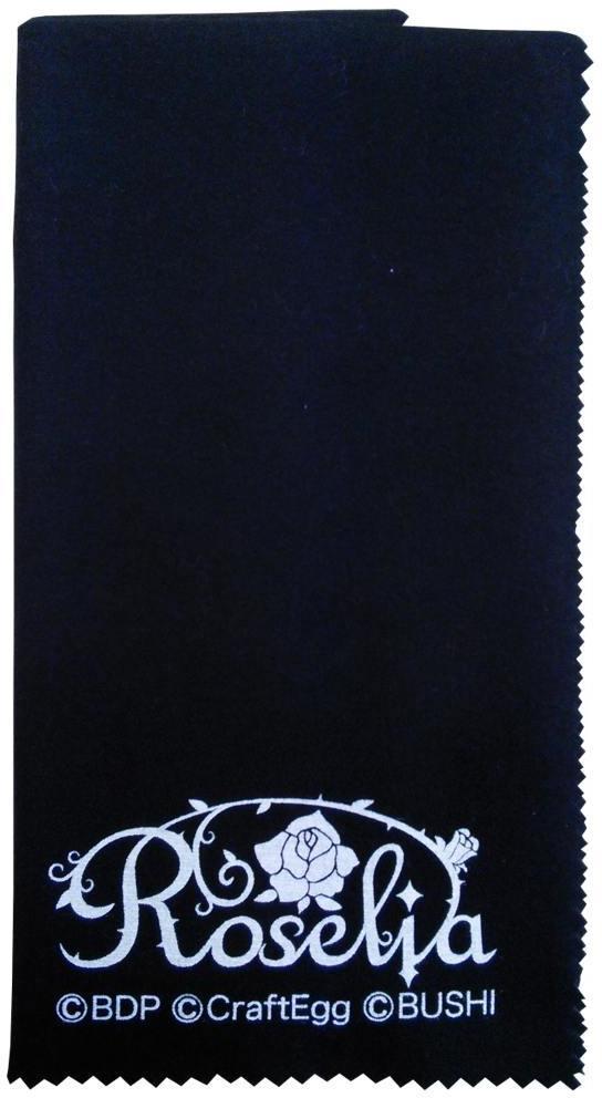 ESP×バンドリ BanG Dream ガールズバンドパーティ CL-8 ROSELIA Black 格安激安 メール便発送 楽器用 代金引換不可 全国送料無料 2020A/W新作送料無料 クロス smtb-TK