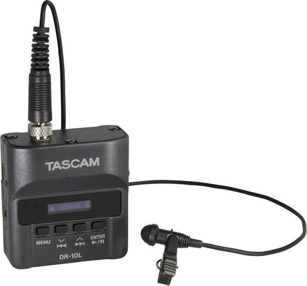 タスカム TASCAM DR-10L 声を録るなら、この1台。身に着けられるピンマイクレコーダー【ポイント5倍】【送料無料】【smtb-TK】